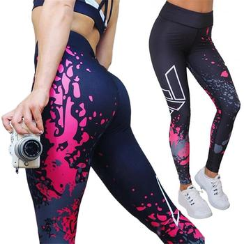 Women's Fitness Pants Yoga Pants Sport Leggings Running Tights Push Hip Sportswear Joggers Running Leggings 1