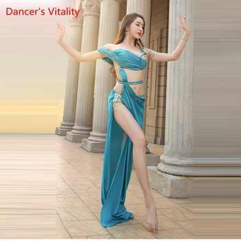 Women Spandex Belly Dance Belly Dance Costume Belly Dance Professional Set women Bra + Skirt 2 pcs - DISCOUNT ITEM  10% OFF All Category