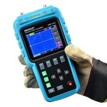 All-dom EM115A 50 MHZ 200MSa/S Osciloscopio + Multímetro Digital Portátil 3in1 Profesional + Generador de Señal USB ColorLCD Pantalla