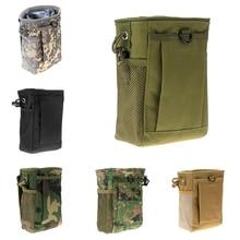 Ռազմական Molle Belt մարտավարական ամսագիր աղբանոց Drop Reloader Pouch Bag Կոմունալ որսորդական ամսագրի քսակ