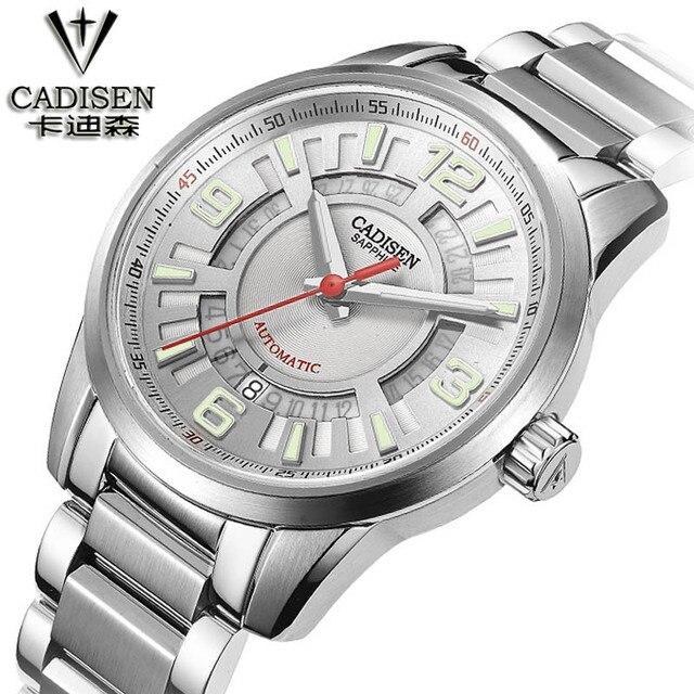 Connu Cadisen suisse marque montres cadran lumineux automatique  XO46