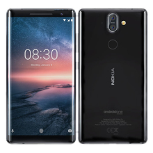 Global Version Nokia 8 Sirocco Mobile Phone 4G LTE 5.5 inch
