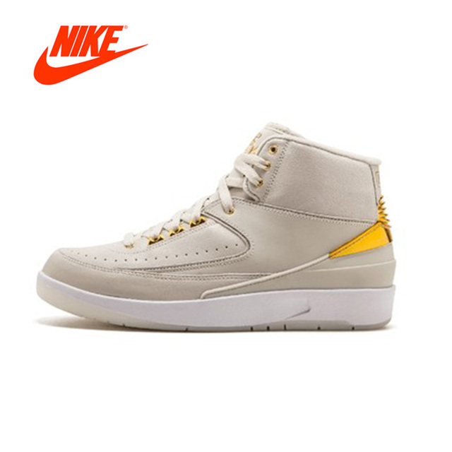 free shipping 32c5f 92cc2 Official Original Nike Air Jordan 2 Retro Q54 Street ball limited Men s  basketball shoes Outdoor sports 866035-001
