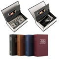 Simulation Dictionary Style Safe Box Cash Money Jewelry Storage Box Security Secret Book Case Security Key Lock Size S