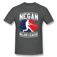Custom Design Negan Major League T Shirt For Men S Urban Feminina Teenage Tops T Shirt
