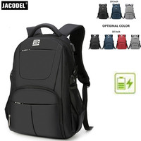 Jacodel Casual 14 15 16 17 18 19 Inch Laptop Backpack Large Computer Backpack Bag For