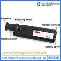 Frete Grátis Handheld 400x Microscópio de Inspeção De Fibra Óptica com 2.5mm e 1.25mm Adaptador