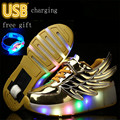 luminous Sneakers Girls Boys Wheels Shoes USB Wing Roller Skate Shoes For Kids Children Shoes With Wheels Shoe de rodinha