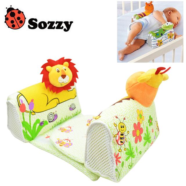 1 pcs Sozzy Finalizar O Projeto Travesseiro Anti Rolo Travesseiro Ajustar A Posição Do Bebê Moldar Lado Travesseiro Para Dormir sapo Leão Girafa