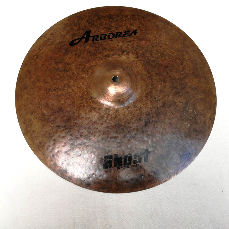 100% handmade solid Ghost 16 crash CYMBAL on sale arborea ghost cymbal set on sale