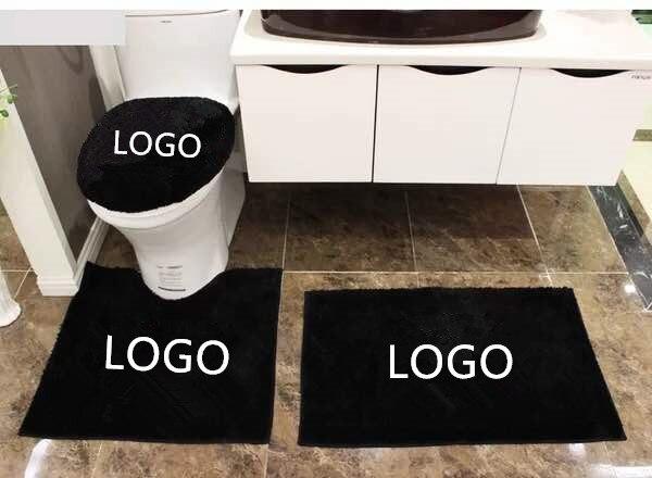 Badkamer Tapijt Badmat : Europese stijl aangepast logo diy badmatten tapijten stks