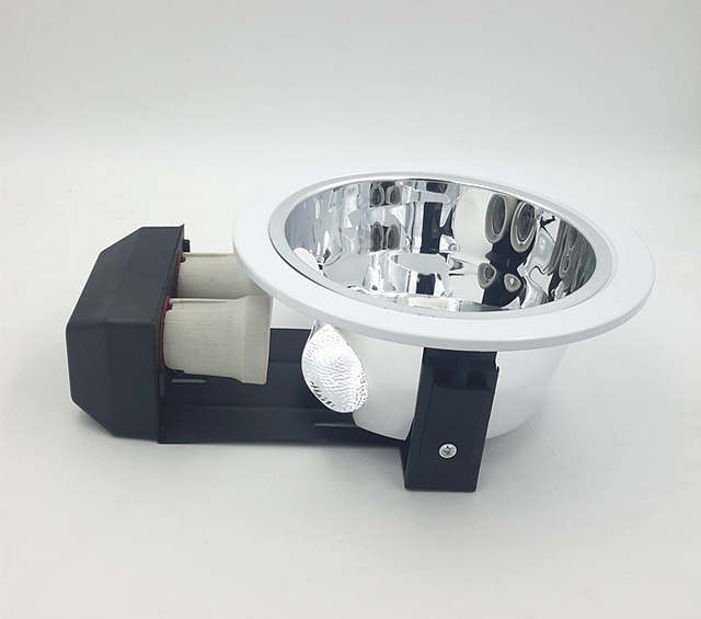 Placeholder Free Shipping E27 2 Led Down Light Bracket Downlight Fixture For Bulb