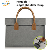 2017 New Felt Universal Laptop Bag Notebook Case Briefcase Shoulder Handlebag Pouch For Macbook Air Pro