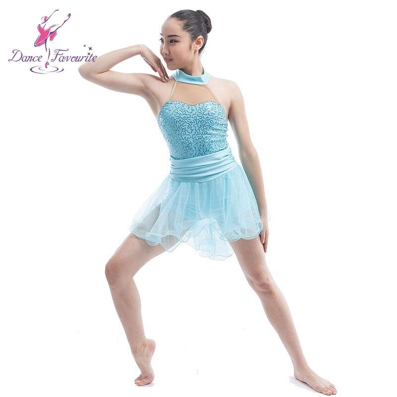 b1e2805eb99d 2016 Girls Ballet, Lyrical & Contemporary Dance Dress Light Blue Ballet  Dance Tutu Show Costumes Ballerina Sequin Dresses 16089-in Ballet from  Novelty ...
