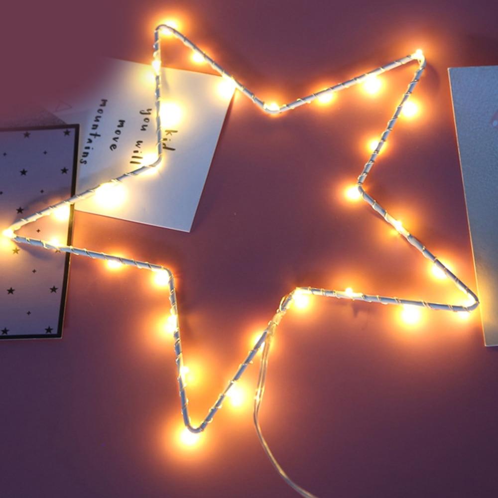 Creative LED Iron Indoor Decoration 3D Flamingo Night Light Cactus Modelling Wall Lamp Nightlight Atmosphere Light