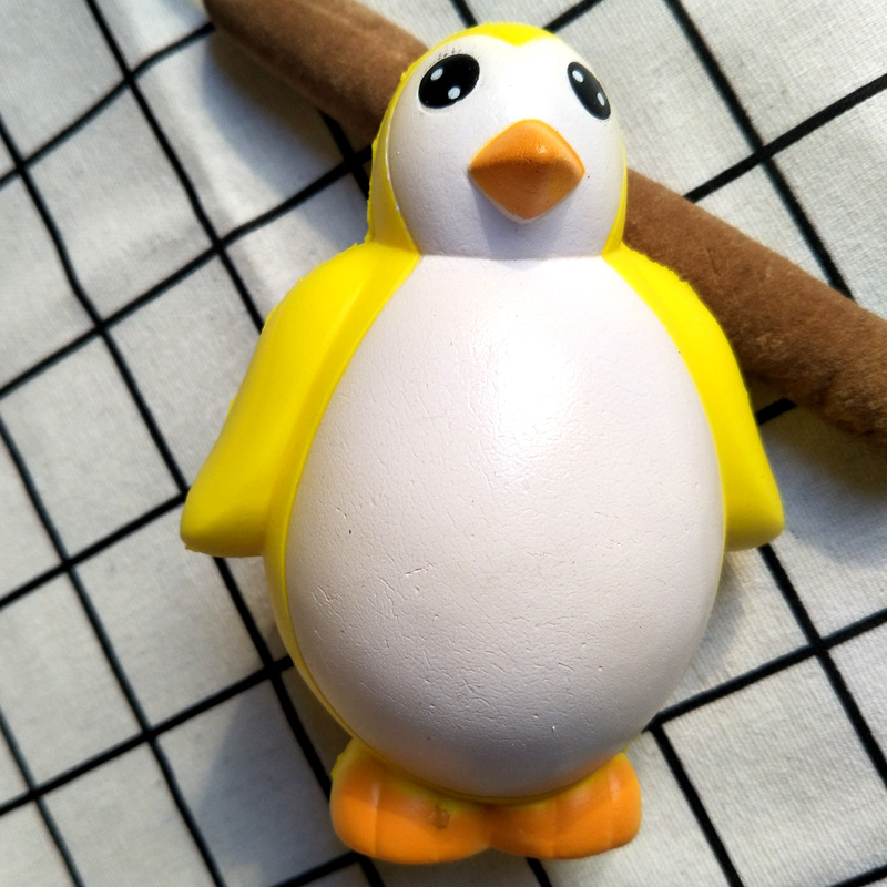 Squishy Toy Kawaii Penguin Antistress Toy Soft Slow Rising Jumbo Squeeze Toys For Kids Stress Relief Funny Novelty Gag Gift