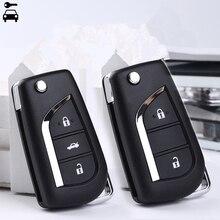 Модифицированный дистанционный ключ для автомобиля 2B/3B, для Toyota Corolla Camry Crown RAV4 Auris Yaris Avalon Venza Prado, 315 МГц с чипом 72G/4D67