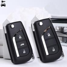 Car 2B/3B Modified Flip Remote Key for Toyota Corolla Camry Crown RAV4 Auris Yaris Avalon Venza Prado 315Mhz with 72G/4D67 Chip