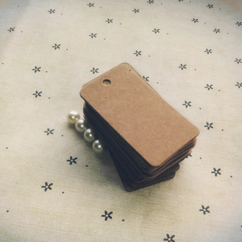 Free shipping wholesale homemade Kraft paper tags bookmark mood message card DIY scrapbook accessories 200pcs 54*28mm 026011002