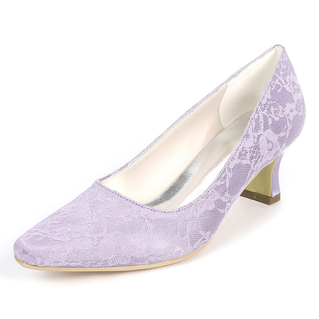 940c7b71d5cc Creativesugar sweet mint green lavender turquoise lace low heel lady  pointed toe evening dress shoes bridal