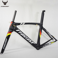 700C New Carbon Road Frame PF30 Di2 Full Carbon Fiber Road Bike Frame 49 52 54