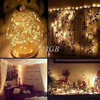 20m 200 LED Outdoor Solar Powered String Light Garden Christmas Party Fairy Lamp A08 15