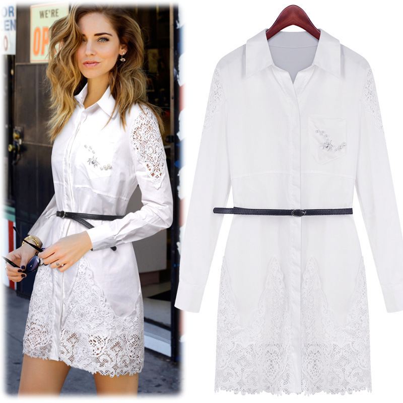 Casual lace dresses for cheap