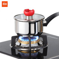 Xiaomi Mi Home Non coating Small Stainless Steel Cooking Pot Milk Stockpot Gas Induction Cooker Soup Pots Kitchen tool