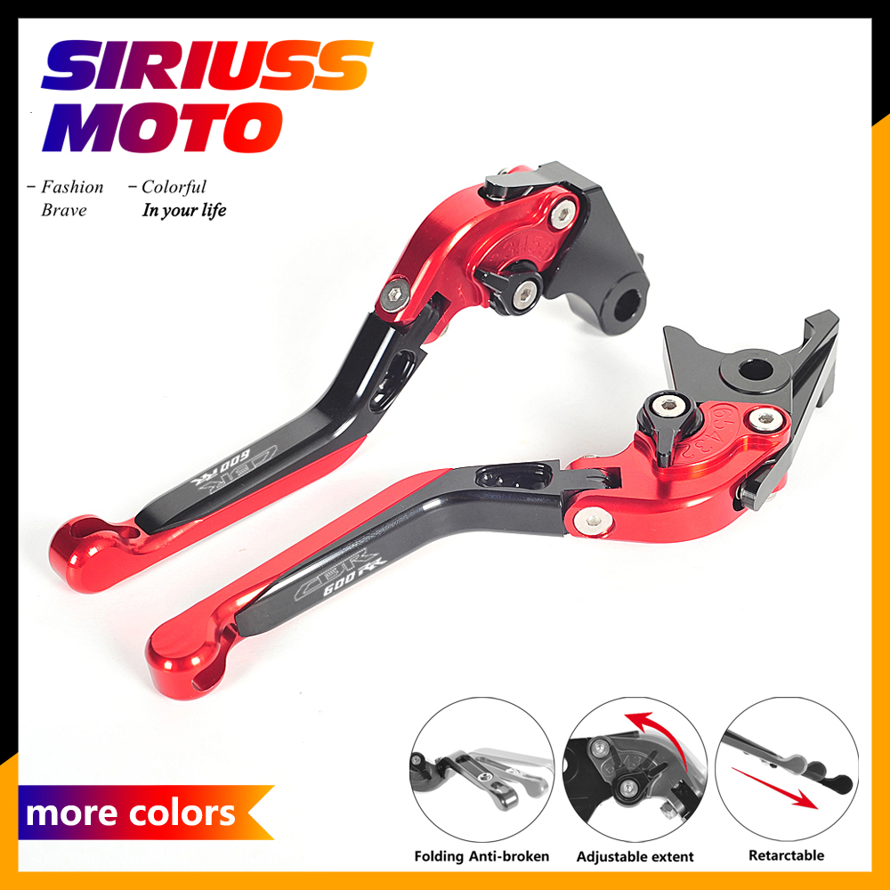 Motorcycle Adjustable Foldable Motocross Extendable Brake Clutch Levers Case for Honda CBR600RR CBR 600RR 2003-2006