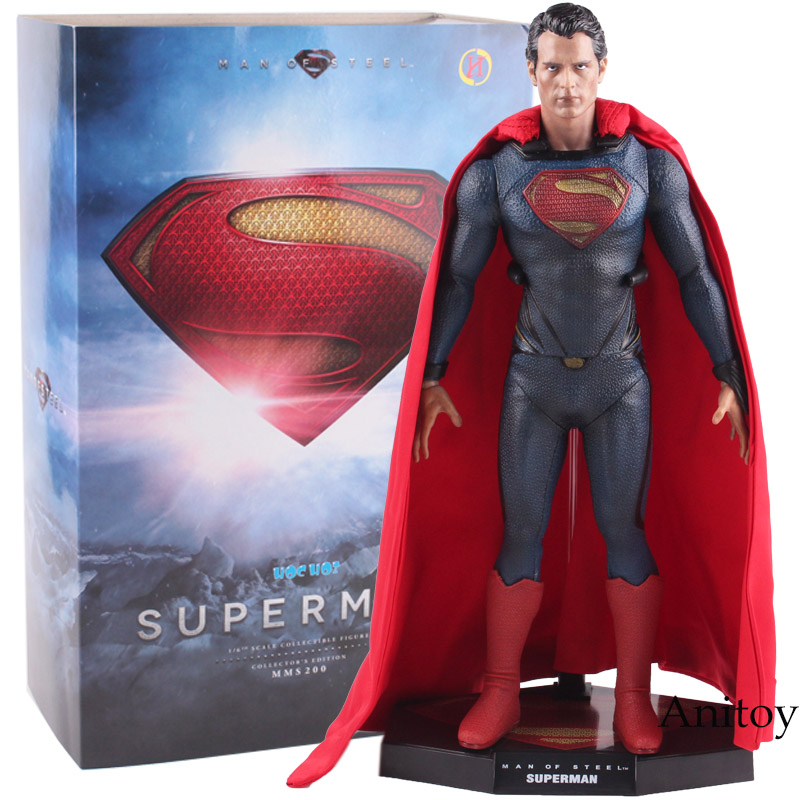 Superman 1 6 Scale Collectible Figure Collector s Edition PVC Superman Action Figure Collectible Model Toy