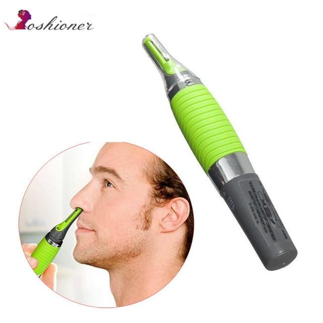 1 個電気耳鼻ネック眉毛トリマー実装脱毛のための男と女