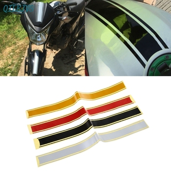 50 x 4.5 cm Motorcycle DIY Tank Fairing Cowl Vinyl Stripe Pinstripe Decal Sticker For Cafe Racer Dec21 image
