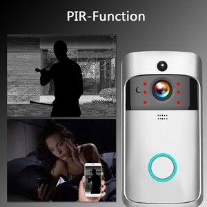 Image 2 - WIFI פעמון חכם IP וידאו אינטרקום וידאו דלת טלפון דלת פעמון מצלמה עבור דירות IR מעורר אבטחה אלחוטית מצלמה