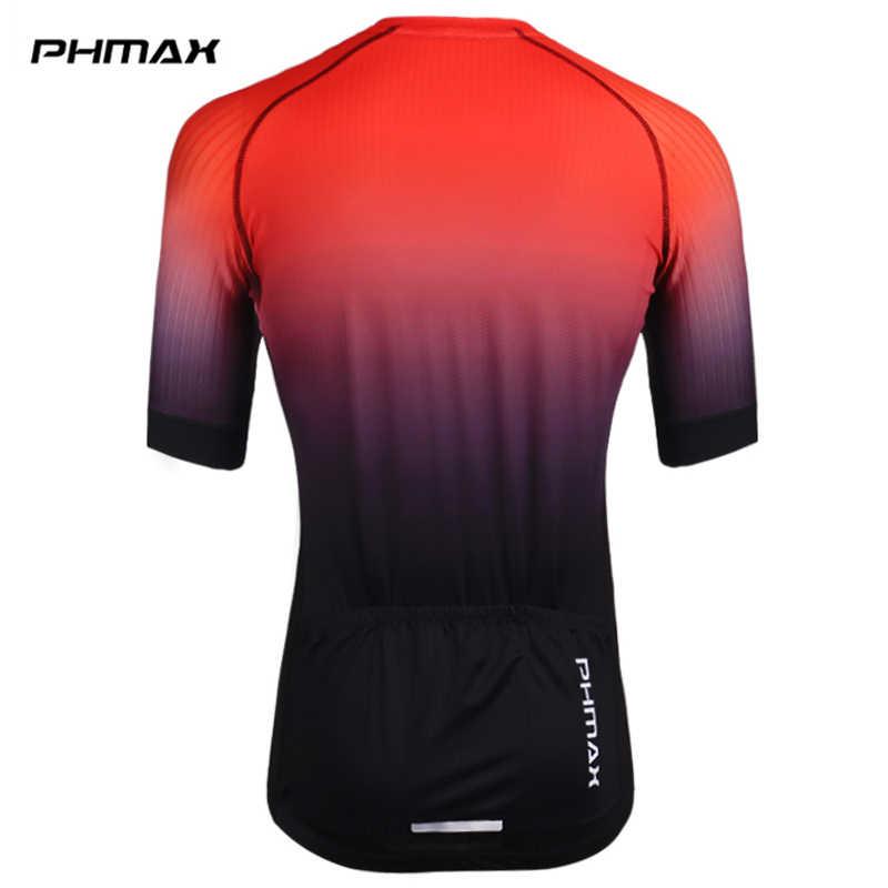 PHMAX Pro Radfahren Trikots Kurzarm Radfahren Kleidung MTB Fahrrad Kleidung Sommer Straße Fahrrad Trikots herren Radfahren Einheitliche