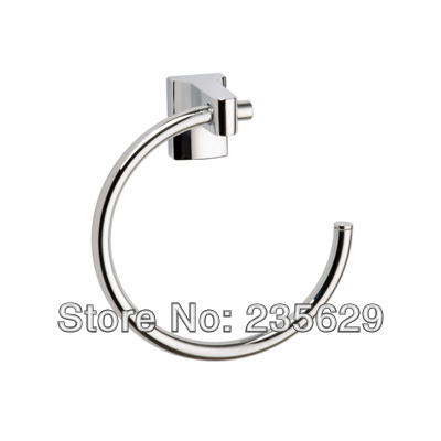 Free Shipping, High Quality towel ring bathroom accessories with Chrome Finish, Modern Towel Rings high quality high quality 9 long chrome vanadium steel tower pincers rabbet pliers yellow free shipping free shipping