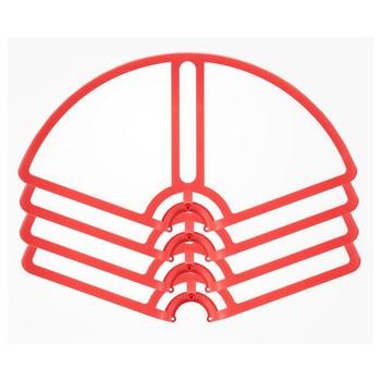 4 unids Hélices choque de la lámina de parachoques del protector para Xiao mi drone quadcopter