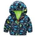 Kindstraum niños ropa niños chaqueta y abrigo de primavera calidad deportes niños de la chaqueta ocasional outwear abrigo con capucha dinosaurio, MARCA MC420