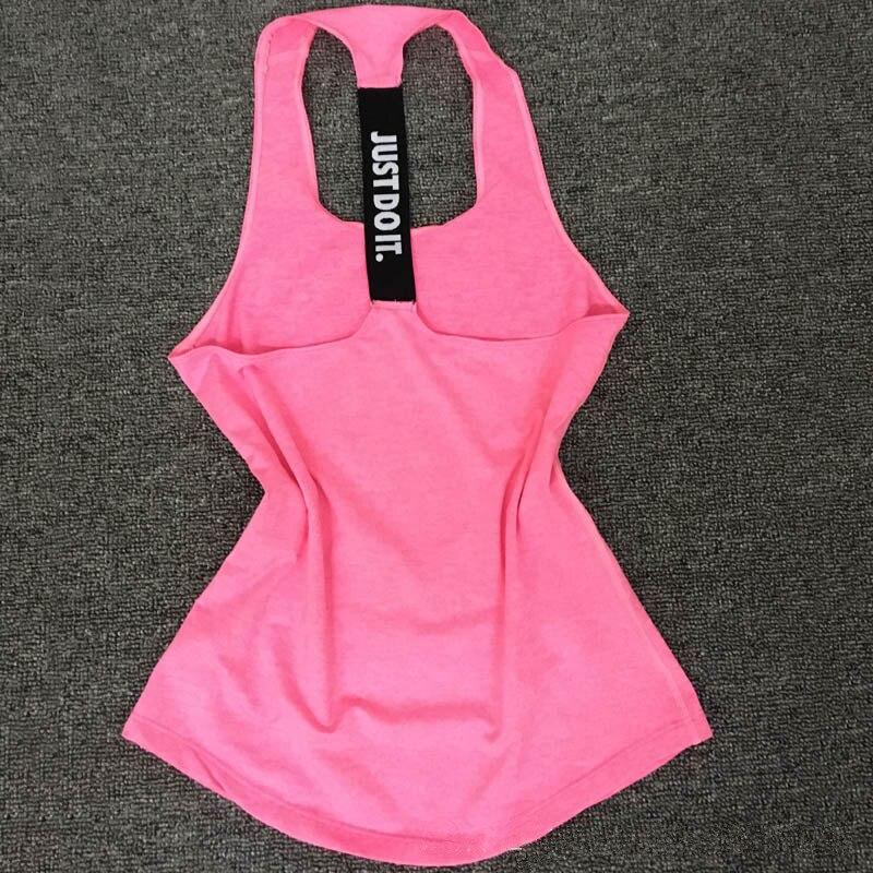 2018 חדש לנשים כושר פיתוח גוף ללא שרוולים טמפרמנט ספנדקס הגופייה הנשים Vest חולצות נקבה אופנה סקסית הלבשה SL