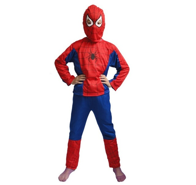 Red Spiderman Boys Costume Fashion Spiderman Cosplay Clothing Kids Pajama Sets Long Sleeve Toddler Baby Sleepwear