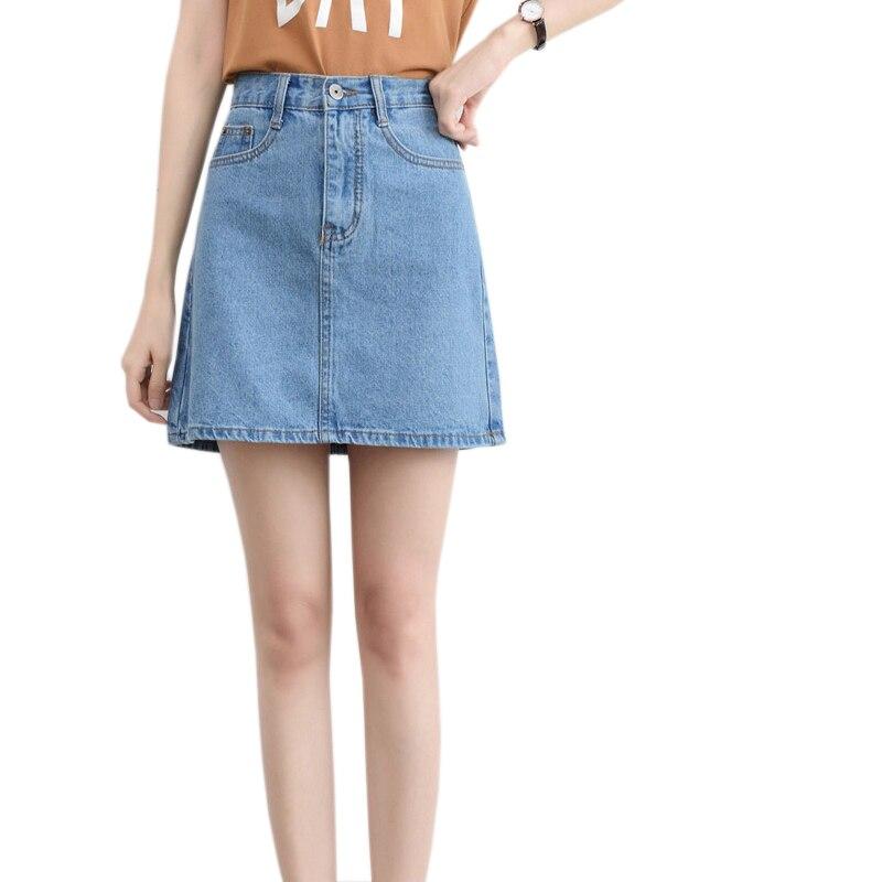 DTYNZ Brief Style A Line Women Denim Mini Skirt 2017 Plus ...