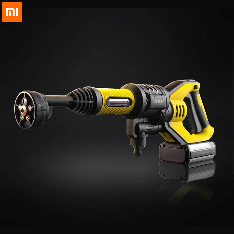 Xiaomi JW31 Car High Pressure Power Water Gun Pressure Washer Cordless Jet Garden Washer 5 Modes