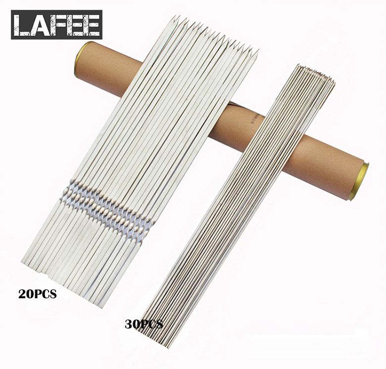 70 Pcs Stainless Steel Flat Meat Skewers For Outdoor BBQ Barbecue