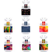 Vinyl Sticker For Apple Air Pods Protective Cover Skin Decal Scratch Proof Films Decorative Wrap