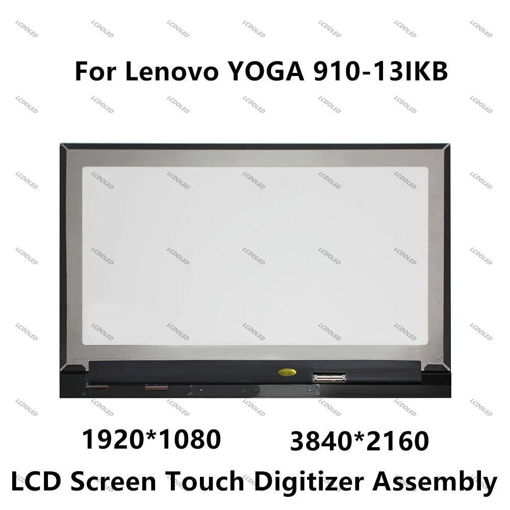 Lenovo Yoga 910-13IKB FHD LCD and Glass Digitizer Assembly 5D10M35047 B