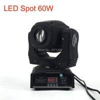 DJ 60w LED Light Spot Moving Head 9 11ch 7 Gobo Pattern Rotation LED Lamp DMX