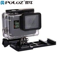 Puluz Спорт Камера консольные Уивер Пикатинни Quick Release пистолет железнодорожных Сторона крепление для GoPro Hero 5 4 3 + 3 2 1 Интимные аксессуары