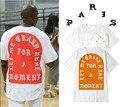 2016 Western style Street crime GOD NEW KANYE WEST PARIS YEEZUS GLASTONBURY Clothing T Shirt 3 color