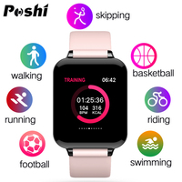New Smart Watch Women ip68 Waterproof Digital Sport Watch Heart Rate Blood Pressure Sleep Monitor Band for Huawei Samsung xiaomi