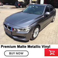 High Flexible And St 5x65FT Grey Car Styling Air Free Bubbles Best Quality Carbon Grey Lightning