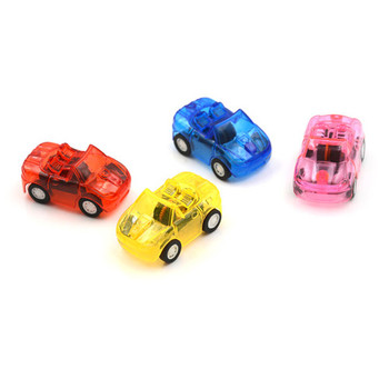 5*3*2 cm Great Pull Back Car Plastic Cute Toy Cars For Child Wheels Mini Car Model Kids Toys For Boys Candy Color Best Gift image